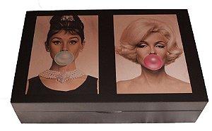 Porta relógios/óculos Audrey/Marilyn