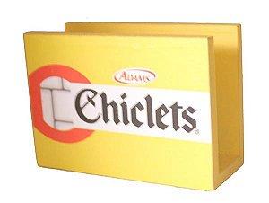 Porta guardanapos Chiclets