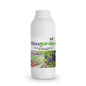Fertilizante Adubo Foliar Organomineral Perfumado Yougarden Frutas 1 Litro Concentrado