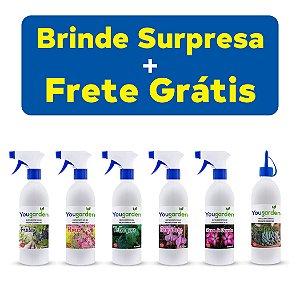 Crie O Seu Kit 6un Fertilizante Adubo Yougarden 500ml Pronto Uso Frete Grátis