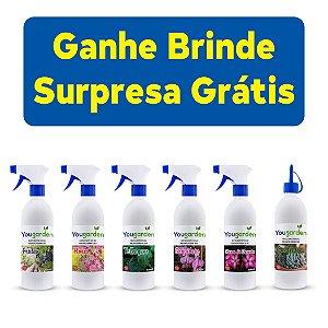 Crie O Seu Kit 3un Fertilizante Adubo Yougarden 500ml Pronto Uso