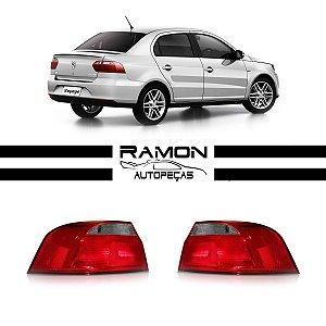 Lanterna Traseira VW Voyage 2013 2014 2015 Fumê Canto