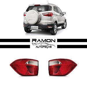 Lanterna Ford Ecosport 2012 2013 2014 2015 2016 Bicolor Canto
