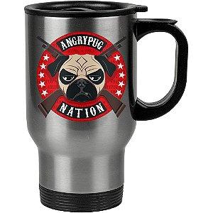Caneca Térmica Angry Pug Nation