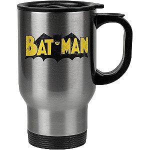 Caneca Térmica Batman Logo Vintage