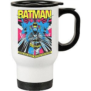 Caneca Térmica Branca Batman Resgate