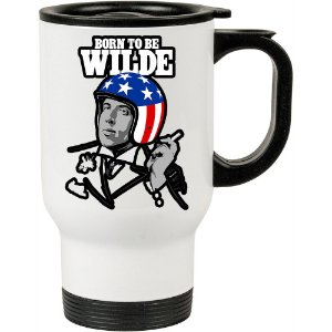 Caneca Térmica Branca Born To Be Wilde