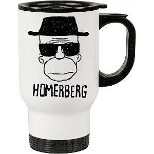 Caneca Térmica Branca Breaking Bad Homerberg
