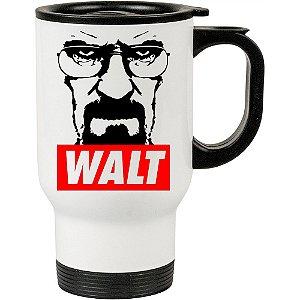 Caneca Térmica Branca Breaking Bad Walt