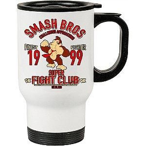 Caneca Térmica Branca Donkey Kong Fight Club