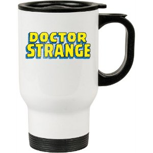 Caneca Térmica Branca Doutor Estranho (Doctor Strange) 02