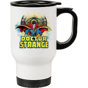 Caneca Térmica Branca Doutor Estranho (Doctor Strange) 05