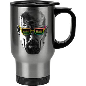 Caneca Térmica Breaking Bad Mr. White Groovy