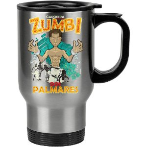 Caneca Térmica Capoeira Zumbi Dos Palmares