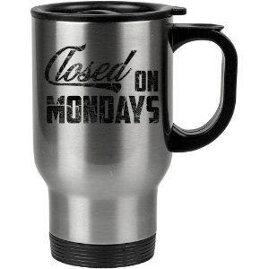 Caneca Térmica Closed On Mondays