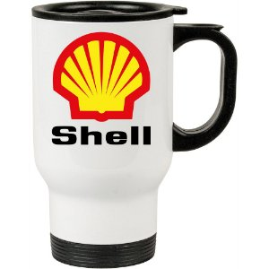Caneca Térmica Branca Shell
