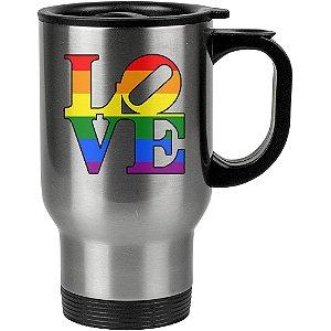 Caneca Térmica Love LGBT