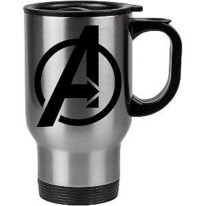 Caneca Térmica Os Vingadores (Avengers) Logo 01
