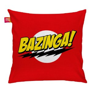 Almofada Bazinga! The Big Bang Theory 35x35cm