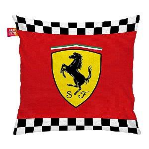Almofada Ferrari Emblema 01 35x35cm