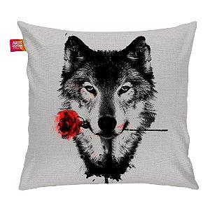 Almofada A Rosa do Lobo 35x35cm