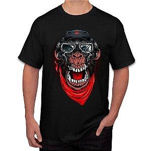 Camiseta Masculina A Aventura do Macaco Mau