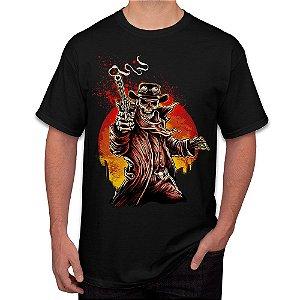 Camiseta Masculina A Caveira Matadora