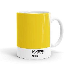 Caneca Pantone 109 C