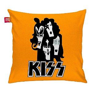 Almofada Banda Kiss 01 Laranja 35x35cm
