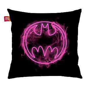 Almofada Batman Logo Neon 35x35cm