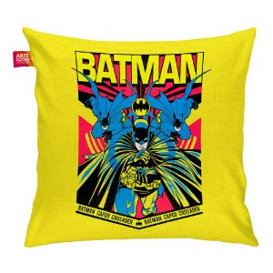 Almofada Batman Resgate Amarela 35x35cm