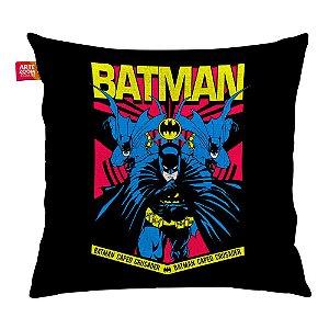 Almofada Batman Resgate Preta 35x35cm