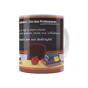 Caneca Dia dos Professores Obrigado Pela Dedicação