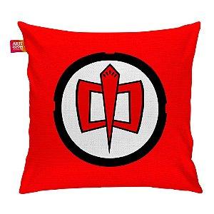 Almofada Super Herói Americano Vermelha 35x35cm