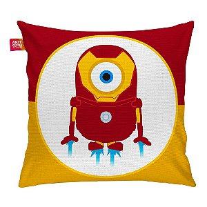 Almofada Minion Hero Iron Man 35x35cm