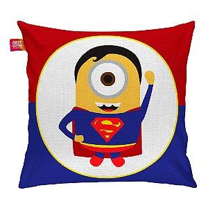 Almofada Minion Hero Superman 35x35cm
