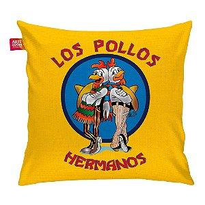 Almofada Breaking Bad Los Pollos Hermanos 35x35cm