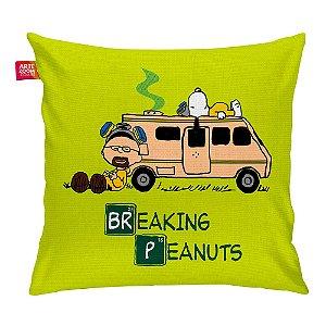 Almofada Breaking Bad Peanuts 35x35cm