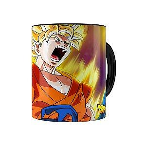 Caneca Dragon Ball Super Goku 01 Preta
