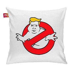 Almofada Caça Trump Fantasma Branca 35x35cm