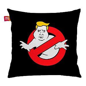 Almofada Caça Trump Fantasma Preta 35x35cm