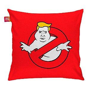 Almofada Caça Trump Fantasma Vermelha 35x35cm