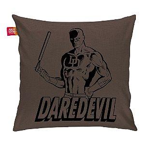 Almofada Demolidor (Daredevil) 01 Marrom 35x35cm