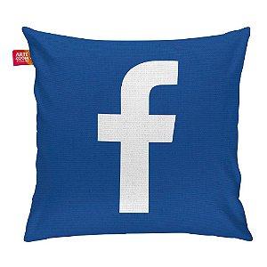 Almofada Redes Sociais Facebook 01 35x35cm