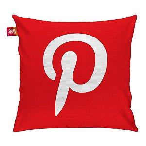 Almofada Redes Sociais Pinterest 01 35x35cm