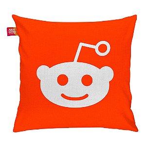 Almofada Redes Sociais Reddit 35x35cm