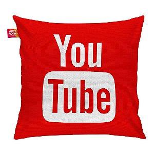 Almofada Redes Sociais YouTube 01 35x35cm
