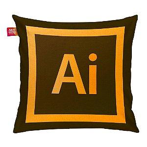Almofada Adobe Illustrator 35x35cm