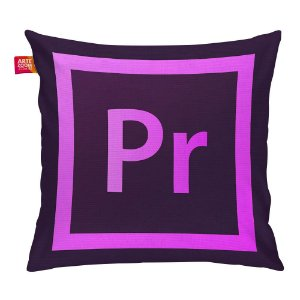 Almofada Adobe Premiere Pro 35x35cm