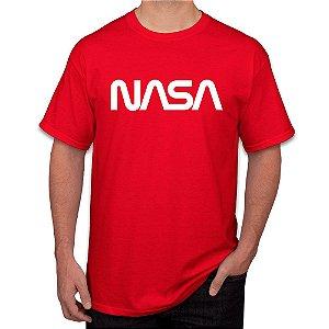 Camiseta Masculina Nasa Worm